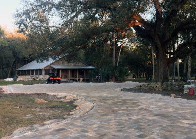 Driveway at Triple Tree Ranch