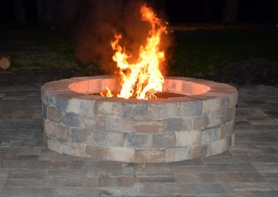Firepit at Triple Tree Ranch